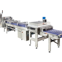 Bun Slicing & Flow Packaging Line | Brevetti Gasparin